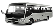 Hire Toyota Coaster Saloon, Rent a Coaster In Lahore | Rent a Car