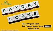 Payday Cash Advance in Australia
