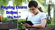 Payday Loans Online - Why Not?