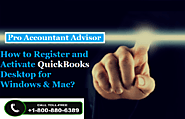 How to Register and Activate QuickBooks Desktop for Windows & Mac?