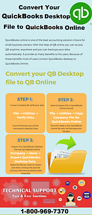 Converting from QuickBooks Desktop to Online – Here Are Things You Must Know