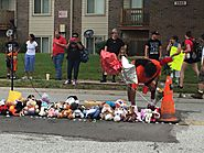 "ᴅʀᴇᴡ ᴡᴇsᴛʜᴀᴜs on Twitter: ""Today marks 1 year since Michael Brown's death. This is his memorial. A march to St. Mark'..."