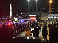 "ᴅʀᴇᴡ ᴡᴇsᴛʜᴀᴜs on Twitter: ""STL County police and MSHP have formed a line. Protestors chanting at a small distance, di..."