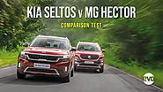 MG Hector vs Kia Seltos (petrol DCTs) | A Very Serious Comparison Test | evo India