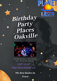 Birthday Party Places Oakville