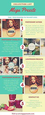 Shop Portrait Wedding Action | Photoshop Actions | Photoshop Overlays