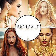 Shop Portrait Photoshop Actions & Wedding Photoshop Actions