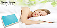 Best Cooling Pillow | Cool Gel And Memory Foam | Pain Remove Pillow