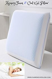 Best Cooling Pillow - Instant Cooling and Comfort, Soft, Double Sided Reversible Pillow #bestcoolingpillow #memoryfoa...