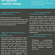 Ambien: A Drug to Restore Restful Sleep