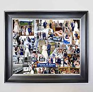 Wedding Bubble Framed photo collage - Domore Pictures