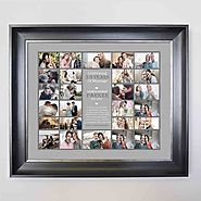Personalised Picture Collage For 30th Pearl Wedding Anniversary