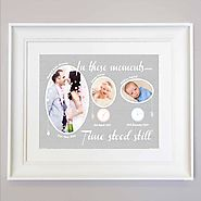 Time Stood Still | Personalised Gift Frame | Sentiment| Domore.ie