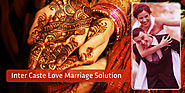 Inter-caste love marriage problem solution in India
