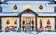 Magical Outdoor Christmas Decorating Ideas for Front Porch