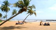 Relaxing on Negombo Beach