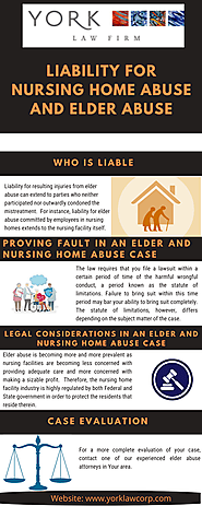 Liability For Nursing Home Abuse and Elder Abuse