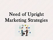 Need of Upright Marketing Strategies by suzycustomers - Issuu