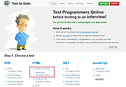 Hire Front-end Developers for New IT startup, Test HTML/CSS and JavaScript Skills Online