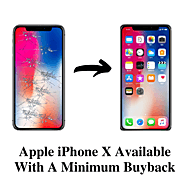 Apple iPhone X Available with a Minimum Buyback