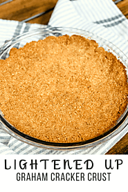 Lightened Up Graham Cracker Crust - Pound Dropper