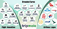 Get Rich Content for Airline Amenities | Branded fares' ticket attributes and Updated Airline Logos at Tripmole
