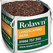Rolawn Landscaping Bark Chippings Mulch 310KG Bulk Bag