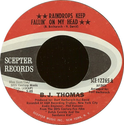 Raindrops keep falling - B.J. Thomas (1970)