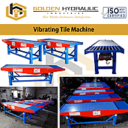 Top 5 Vibrating Table Machine Manufacturers in India