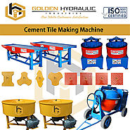 Low Price Cement Tiles Making Machine