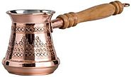 CopperBull Solid Copper Turkish Coffee Pot