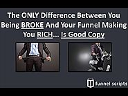 Funnel Scripts - How To Easily Write Money Sucking Sales Copy ‎📈