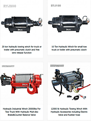 What is winch? How you can work with the hydraulic recovery winch? – China Professional Vehicle Winch Manufacturer | ...