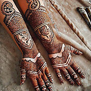 Bridal Mehndi Designs 2019 - HappyShappy