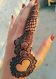 A Perfect Guide to Mehendi Designs for Bride. - Fashion Industry Network