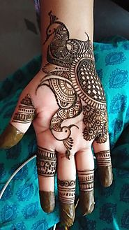 Mehndi designs for front hand - mehendi designs for hands simple arabic | HappyShappy