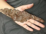Mehendi designs for hands simple Arabic Style | HappyShappy