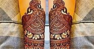 Karwa Chauth Mehendi Designs that will help you to Paste on hands and Feets