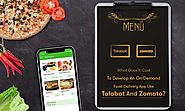 What is the Cost To Develop An On-Demand Food Delivery App Like Talabat And Zomato?