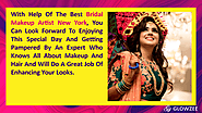 • With help of the Best Bridal makeup artist New York, you can look forward to enjoying this special day and getting ...