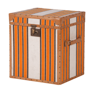 ORANGE , WH.STRIPE TRUNK