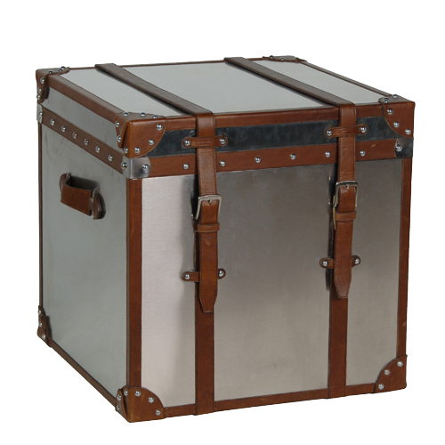 SQ.STAINLESS STEEL TRUNK