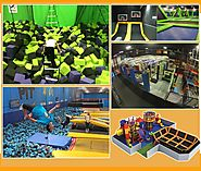 The variety of playing equipment in the indoor playground for sale is no doubt an irresistible attraction for them.