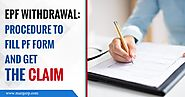 EPF Withdrawal Procedure - To Fill EPF form & Get the Claim | Marg ERP Blog