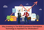 Why Investing In The B2B Ecommerce Marketplace Technology Is Important For Manufacturers, Distributors And Wholesalers
