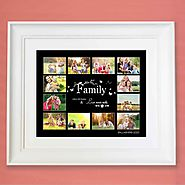 Buy personalised multi photo frame online in Ireland - Domore.