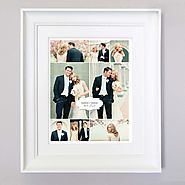 Personalised Unique Wedding Gift | Sentiment Gift Frame | Remember