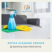 Cleaning Made Easy at Workplace with the Help of Sparkling Clean Maid Service!