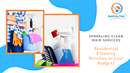 This Diwali Clean your Home with Sparkling Clean Maid Services at an Affordable Price !