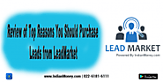 Purchase Leads from Lead Market